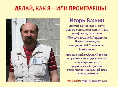 Бажин Игорь Иванович
